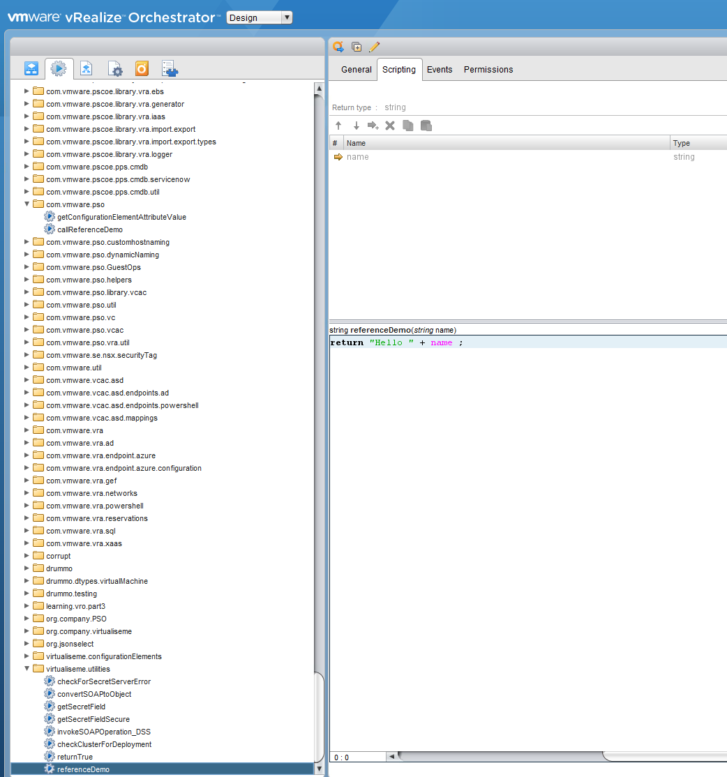 vRealize Orchestrator – Action References | Virtualise Me